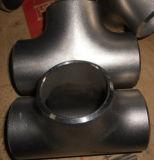 Te apropiada del tubo sin soldadura de la autógena de tope del acero de carbón
