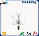 MTX -- Bulbo estrellado retro de la lámpara 110V/220V G125 de la luz de la vela del bulbo de la vendimia LED de los bulbos E27 3W Edison del LED