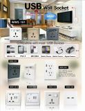 Стена USB сбываний высокого качества горячая переключает гнездо