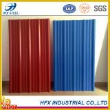 Плитки толя Corrugated цвета Coated