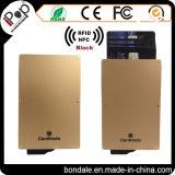 RFID che ostruiscono il manicotto proteggono la vostra carta di credito, cassa di scheda di identificazione di NFC Sheilding, la protezione di G-Sec0012105001-Bon