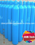 Медицинские цилиндры g 25L нитрозной окиси с клапанами Cga910 индекса Pin & крышками