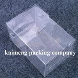 Caja de embalaje transparente plástica cuadrada vendedora caliente para el paquete de la torta (caja de embalaje)