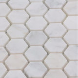 Het hete Mozaïek van Cararra van de Stijl van de Verkoop Nieuwe Hexagon Marmeren