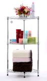 Haltbares Metalldraht-Regal/Draht-Bildschirmanzeige-Zahnstangen für Küche-praktischen Gebrauch drücken glatt