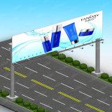 Het openlucht Digitale Staal Polen van het Aanplakbord van de Reclame van het Aanplakbord