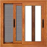 Aluminiumtür-Fenster-Dekoration mit weißem Fiberglas-Fenster-Bildschirm