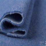 Bons tissus d'acétate de laines et de cellulose d'élasticité dans le bleu