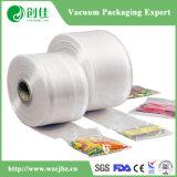Bolso de vacío plástico claro del acondicionamiento de los alimentos aislante de tubo de la película de la protuberancia de 7 capas