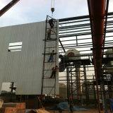 証拠によって波形を付けられる鉄骨構造の倉庫を防水し、巻きなさい