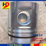 Pistão das peças de motor Diesel 6D155 da máquina escavadora com OEM do Pin (6128-31-2140)