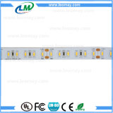 Indicatore luminoso di striscia freddo flessibile di bianco DC24V LED del LED SMD3014