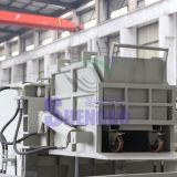 Horizontales Schrauben-Metall bricht Brikettieren-Presse ab (CER)