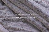 明白なPVの羊毛毛布のプラシ天毛布