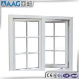 Het dubbele Openslaand raam van het Aluminium van het Glas met de Grill van de Veiligheid