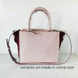 Marken-Entwerfer-modische Frauen PU-Veloursleder-Handtaschen (NMDK-051602)