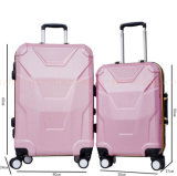 La coutume 24 valises à roues promotionnelles mécaniques de chariot à pouce enferme le bagage