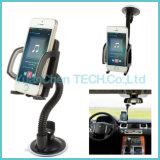 360 girar o suporte ajustável do telefone do carro do carrinho da montagem do pára-brisa da sução