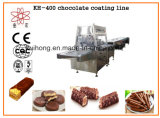 Petit chocolat du KH 400 enrobant la machine