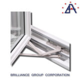 Ventana de cristal del marco de aluminio pasajera As2047 en Australia y Nz