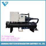 Refroidisseur d'eau refroidi à l'eau de compresseur à vis de Hanbell
