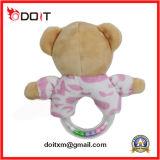 Brinquedo macio super do bebê do luxuoso dos brinquedos recém-nascidos do urso