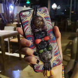 Стильная раковина телефона типа аргументы за iPhone6/6s/7/7s мобильного телефона этническая
