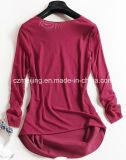 3명의 색깔 여자 `S v 목 Reticulation 셔츠