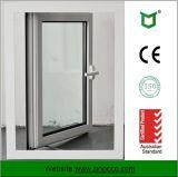 Casement de alumínio Windows da ruptura térmica com padrão de Austrália