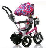 A venda por atacado 4 em 1 triciclo de crianças caçoa o triciclo do bebê de Trike com preço de fábrica