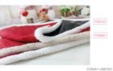 Le crabot bourré par bâtis imperméables à l'eau d'animal familier de velours de Noël complète le couvre-tapis