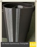Cinghia di sincronizzazione di gomma per industria T10-460 480 del macchinario 500 530 540