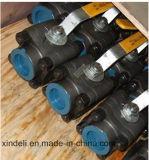 Kogelklep van Sw 800lbs van het Staal van de Fabriek van China 3PC de Gesmede