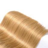 """Перевозка груза 100% Remy бразильского Weave человеческих волос цвета 27# белокурых волос волос Non свободно 18 """""""