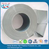 Flexibler glatter grauer undurchlässiger Plastikvinyl-Belüftung-Vorhang-Tür-Streifen