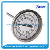Al Thermometer van het Roestvrij staal, Maat van de Temperatuur van de Industrie de Bimetaal