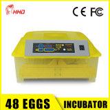 Prix bon marché automatique portatif d'incubateur d'oeufs de poulet
