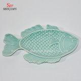 Плит-Океан Series&#160 обеда Tableware уксуса соуса поливы керамического диска рыб универсальный;  /B