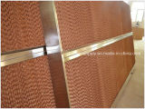 Bienenwabe-Zelle-energiesparende abkühlende Auflage verwendet im grünes Haus-Geflügel-Haus