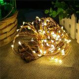 USB освещал 50 надувательства Амазонкы светов светляка медного провода 16.4FT шнура теплого белого горячего Fairy