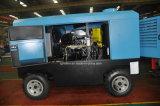 Compressore ermetico diesel di Rotaty della vite montato rimorchio di Kaishan Lgcy-17/7