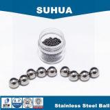 esfera de aço inoxidável G100 de 22.225mm AISI 316