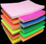 De zelfklevende A4 Etiketten van de Stickers van de Kleur Fluorescente