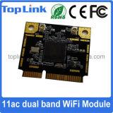 802.11AC Dual mini Pcie WiFi módulo sem fio encaixado MT7612E da faixa 1200Mbps para o computador