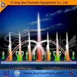 Fontana di galleggiamento cambiante di musica di colore esterno
