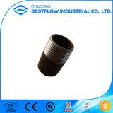 Raccord sans joint de pipe d'amorçage mâle d'acier du carbone Sch40