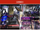 15 Pin SATA Ver007s PCI-E 1X a la tarjeta del adaptador de la canalización vertical 16X