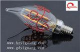 Escurecimento claro do filamento energy-saving grande do diodo emissor de luz do bulbo 3.5W G150