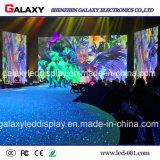 Écran de visualisation visuel polychrome de location extérieur d'intérieur de mur de DEL P2.976/P3.91/P4.81 pour la publicité d'étape d'exposition d'événements
