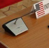 Microphone de bureau de Singden utilisé dans la salle de conférence Sm613